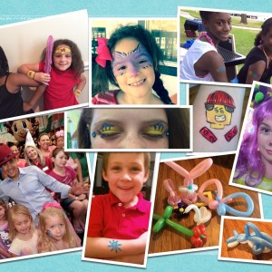 Firework Face Painting - Face Painter / Children's Party Entertainment in Fort Worth, Texas