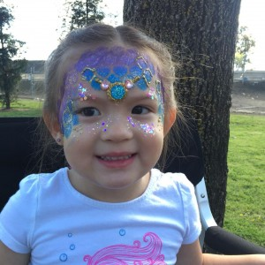 FJA Angel's face/body  Artistic Painting - Face Painter / Halloween Party Entertainment in Lemoore, California