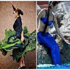 Flamenco Fusion Dance and Mermaid Magic - Mermaid Entertainment in Tucson, Arizona