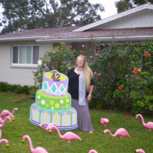 Flamingo Flocking - Party Decor in Ormond Beach, Florida