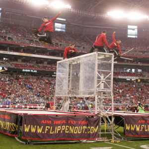 Flippenout Extreme Trampoline - Acrobat / Circus Entertainment in Salt Lake City, Utah
