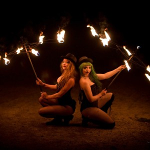 Flowcus Pocus - Fire Dancer in Santa Cruz, California