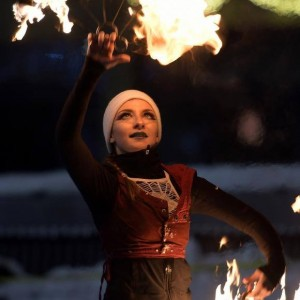 FloWei Fire - Fire Dancer in Boston, Massachusetts