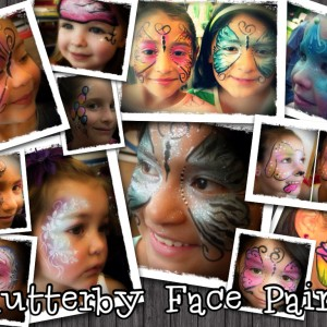 Flutterby Face Paint