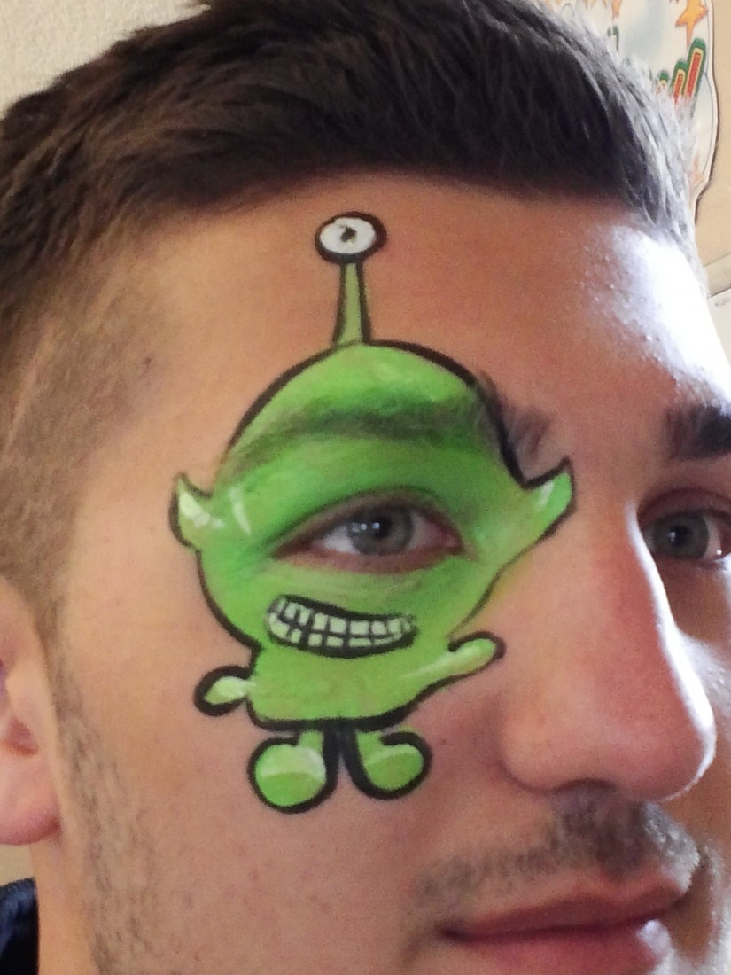 Hire Flutterby Faces Face Painting Face Painter In