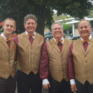 Four Octaves Barbershop Quartet - Barbershop Quartet in Pacific ...