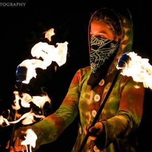 Fractal Flames - Fire Performer in Aspen, Colorado
