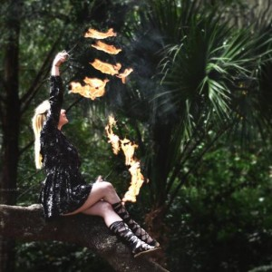 Fractal Fox - Fire Performer in Orlando, Florida