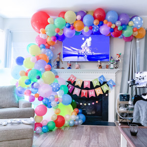 Franklin Party Stylist - Balloon Decor / Tea Party in Franklin, Tennessee
