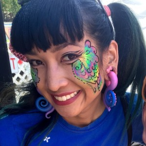 Frannie's Facepainting and Balloons - Face Painter / Fire Performer in San Diego, California