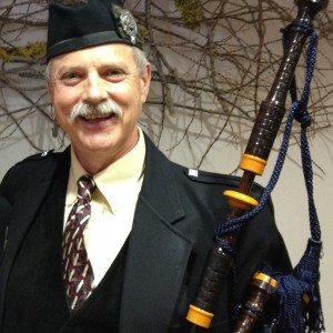 Fred Payne, Champion Bagpiper - Bagpiper in Berkeley, California
