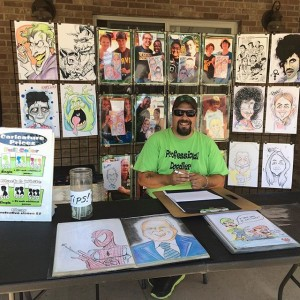 Freddy K's Faces of Fun Caricatures