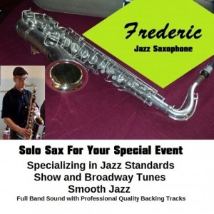 Frederic Jazz Sax - Saxophone Player in Detroit, Michigan