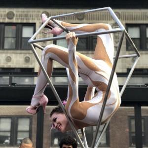 Freestanding lyra  - Aerialist in New York City, New York