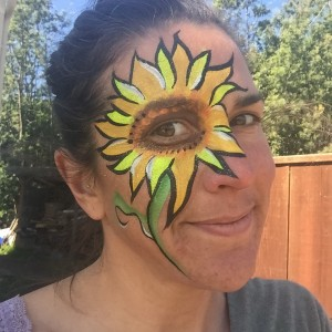 Fun and Friendly Face Painting and Henna - Face Painter / Outdoor Party Entertainment in Santa Cruz, California