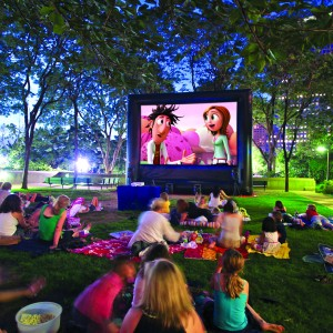 Fun Flicks In & Outdoor Movies Nebraska - Inflatable Movie Screens / Children's Party Entertainment in Omaha, Nebraska