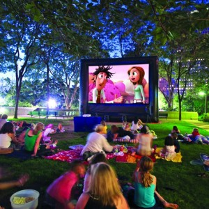 Fun Flicks In & Outdoor Movies Kansas - Outdoor Movie Screens / Halloween Party Entertainment in Des Moines, Iowa