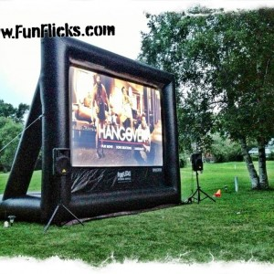 Fun Flicks of Michigan - Outdoor Movie Screens / Party Inflatables in Detroit, Michigan