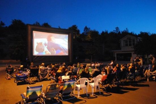 Hire Fun Flicks Outdoor Movies Outdoor Movie Screens In