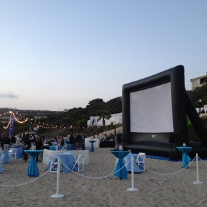 Fun Flicks Outdoor Movies - Outdoor Movie Screens / Party Rentals in San Diego, California