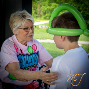 The Balloon Lady - Balloon Twister in Louisville, Kentucky