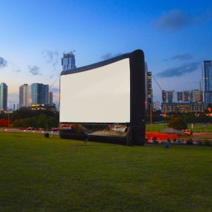 Ultimate Outdoor Movies - Outdoor Movie Screens / Party Rentals in Austin, Texas