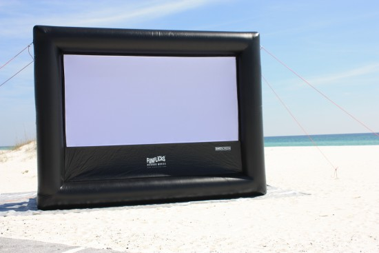 Hire Funflicks Outdoor Movies Outdoor Movie Screens In