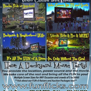 FunFlicks Outdoor Movies - Party Rentals in Spokane, Washington