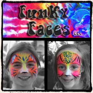 Funky Faces - Face Painter in Nashville, Tennessee