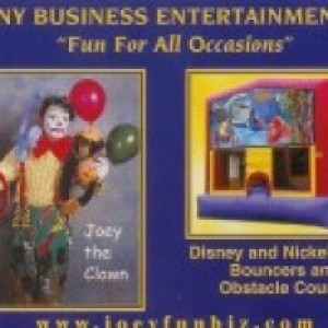 Funny Business Entertainment - Party Inflatables / Clown in Burlington, Vermont