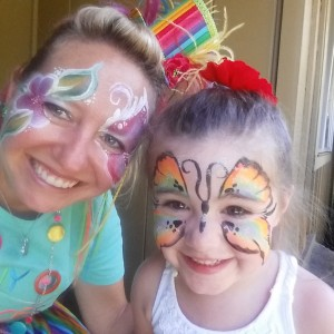Funny Faces - Face Painter in Chico, California