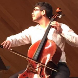 Gabriel Vazquez - Cellist in San Marcos, Texas