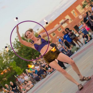 Gaia - Fire Dancer in Wichita, Kansas