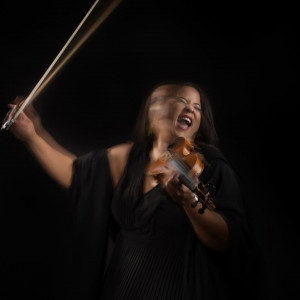 The Electric Violin Lady - Violinist in Dallas, Texas