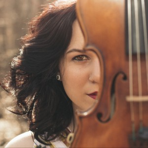 Geneviève Salamone - Violinist / One Man Band in Des Moines, Iowa