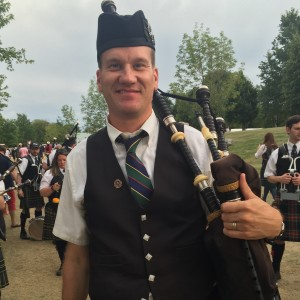 Geoff Douglass - Bagpiper in Bel Air, Maryland
