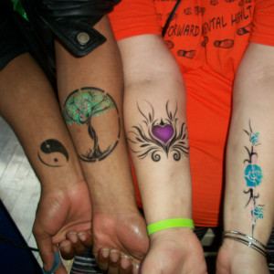 Get Painted - Temporary Tattoo Artist / Body Painter in Akron, Ohio