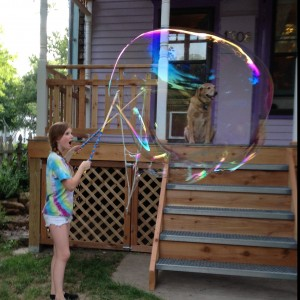 Giant Bubbles - Bubble Entertainment / Children's Party Entertainment in Lawrence, Kansas