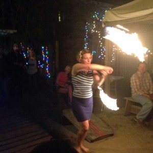 Girls on Fire - Fire Dancer in Hampstead, North Carolina