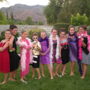 Glamour Party Girls - Princess Party in Agoura Hills, California
