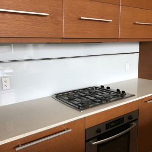 Glass Kitchen Backsplash New York
