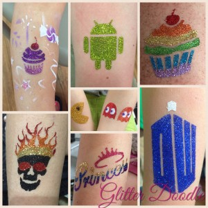 Glitter Doodle - Temporary Tattoo Artist / Face Painter in Scranton, Pennsylvania