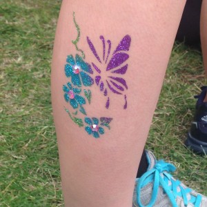 Glitter Ink Body Art - Temporary Tattoo Artist in Minneapolis, Minnesota