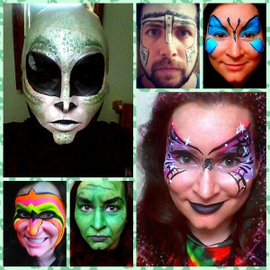 Cat's Cosmic Colours Face Painting! - Face Painter in Toronto, Ontario