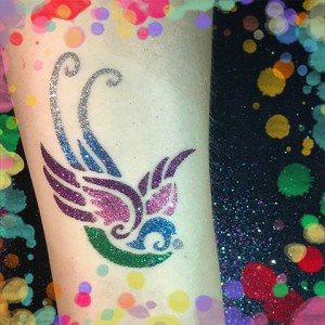 Glitter Tattoos! - Temporary Tattoo Artist in Los Angeles, California