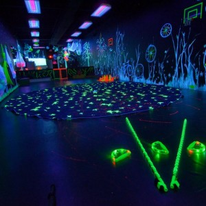 Glow-in-the-dark Party Venue
