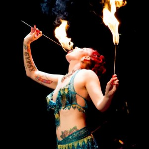 go-go Amy - Burlesque Entertainment / Fire Eater in Los Angeles, California