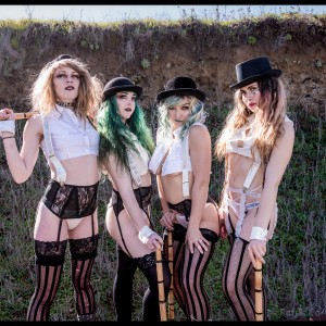 Gold Town Burlesque - Burlesque Entertainment / Dancer in Santa Cruz, California