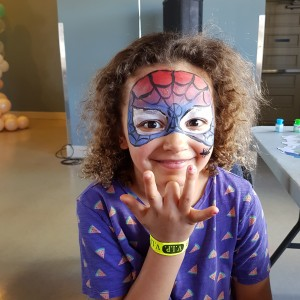 Golden Sun Face Painting Artist - Face Painter in Vancouver, British Columbia