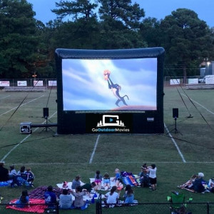 GoOutdoorMovies - Outdoor Movie Screens in Waxahachie, Texas